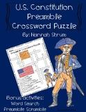 U.S. Constitution Preamble Crossword Puzzle