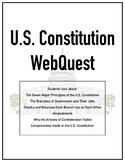 U.S. Constitution WebQuest