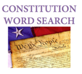 U.S. Constitution Word Search