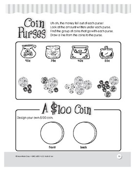 U.S. Currency: A Dollar or a Buck? Short Story and Activities for Grades 1–3