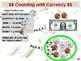 U.S. Currency - Counting with Money (U.S. Currency) (part 3 of 12)