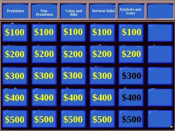 U.S. Currency - JEOPARDY! review game (part 11 of 12)