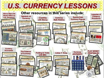 U.S. Currency - Matching Quotations from Famous Currency Figures (part 5 of 12)