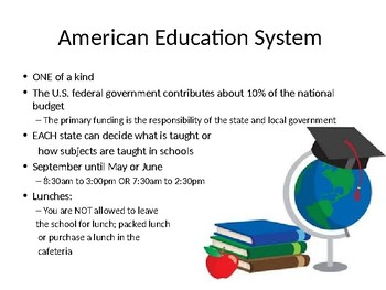 U.S. EDUCATION SYSTEM
