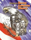 U.S. & Europe After WWII, RECENT AMERICAN HISTORY LESSON 1 of 45 Fun Map Ex+Quiz