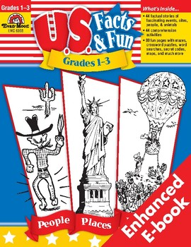 U.S. Fact & Fun, Grades 1-3