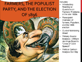 Populist Party, Farmers, and the Election of 1896 Lesson