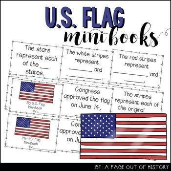 U.S. Flag Mini-Books