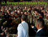 U.S. Foreign and Military Policy (U.S. Government) With Vi