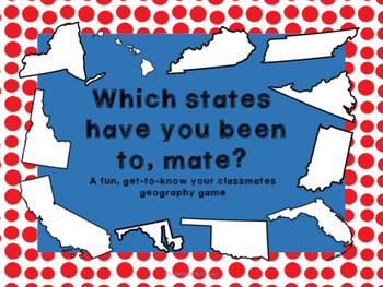 U.S. Geography Game: Which States Have You Been To, Mate?