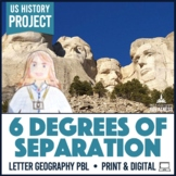 "US Geography PBL Project 6 Degrees of Separation ""Selfie"" Challenge"