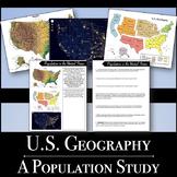 U.S. Geography - Population Map Analysis