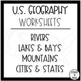 U.S. Geography Worksheets
