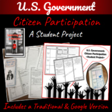 U.S. Government: Citizen Participation   Student Project   Distance Learning