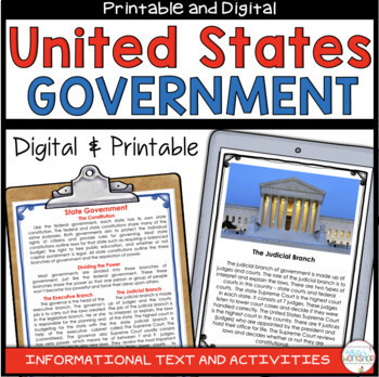 U.S. Government: Federal, State, and Local