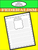 U.S. Government: Federalism - Eulogy/Tombstone Biography Project