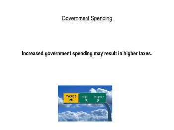 U.S. Government Influence on the Economy power point (CE.13c)