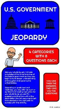 U.S. Government Jeopardy