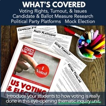 Civics PBL: Voting Unit / Mock Election Unit
