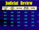 U.S. Government Review Game: Judicial Branch (editable)