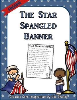U.S. Government Star Spangled Banner FREEBIE