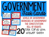 U.S. Government Task Cards