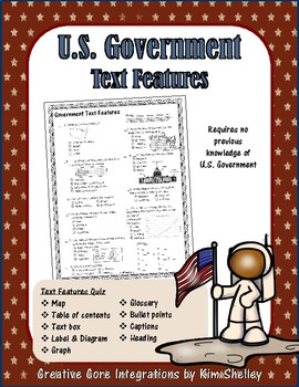U.S. Government Text Features Quiz