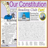 Constitution Day Activity Set and Government Word Search Distance Learning