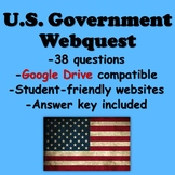 U.S. Government Webquest