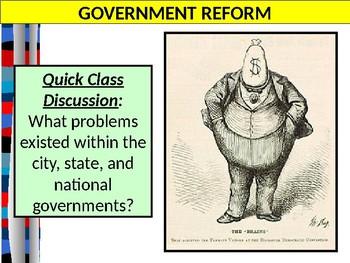U.S. HISTORY UNIT 8 LESSON 2 Progressive Era State & Social Reforms POWERPOINT