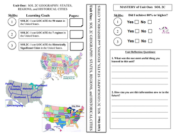 U.S. History 1865 to the Present Notebook Unit Dividers