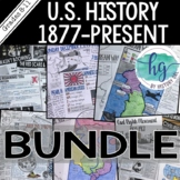 U.S. History 1877 to Present Bundle