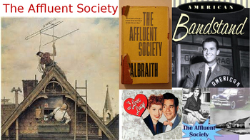 U.S. History-1950s The Affluent Society