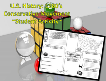 U.S. History: 1980's The Conservative Movement ~Student Activity~