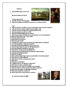 U.S. History AP Foner Text questions Chapter 8