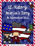 U.S. History: America's Story Interactive Social Studies Unit