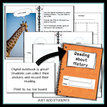 U.S. History Reading Badges: Informational Text Independent Reading Challenge