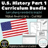 U.S. History Bundle Part 1 {Digital & PDF Included}
