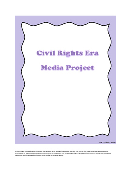 U.S. History Civil Rights Era Media Project
