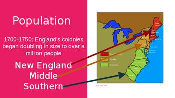 U.S. History: Colonies Review Pt. 2