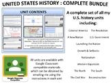 U.S. History - Complete Unit Bundle