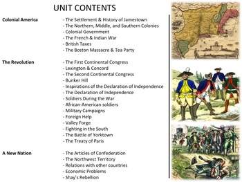 U.S. History - Complete Unit Bundle
