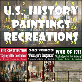 U.S. History - Constitution Signing, Washington's Inauguration, and Fort McHenry