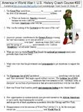 Crash Course U.S. History #30 (America in World War I) worksheet