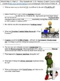 Crash Course U.S. History #36 (World War II, Part 2 - The Homefront) worksheet