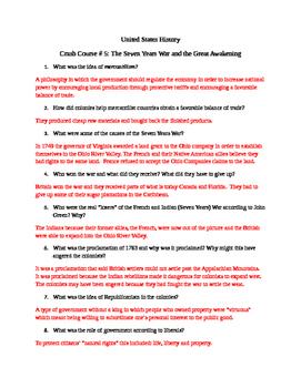 U.S. History Crash Course # 5