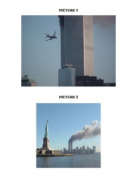 U.S. History- Create a Picture Caption- September 11th  In Class Activity
