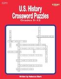 U.S. History Crosswords, Grades 5 and Up
