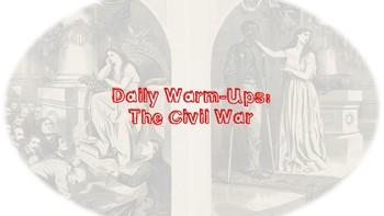 U.S. History Daily Warm-ups: Civil War