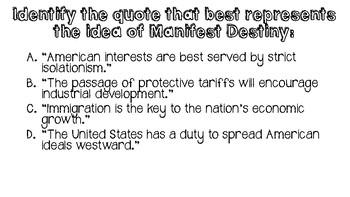 U.S. History Daily Warm-ups:  Westward Expansion